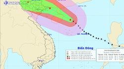 Chiều và tối nay, siêu bão Thần Sấm đi vào Vịnh Bắc Bộ