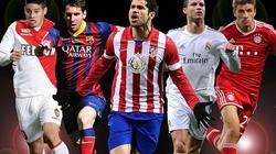 UEFA công bố danh sách đề cử giải thưởng Cầu thủ xuất sắc nhất châu Âu