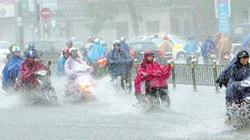 Hôm nay, mưa lớn dữ dội trút xuống miền Bắc
