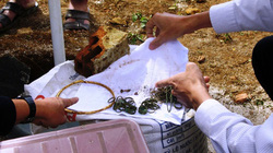 Lâm Đồng: Đào móng xây chốt an ninh, đụng trúng mộ chứa vòng nhẫn vàng