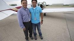 Con lái máy bay chở bố tử nạn trên Thái Bình Dương