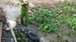 Phát hiện thi thể bị trói chặt 2 chân trôi trên sông