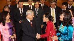 Tổng Bí thư tiếp các Đại sứ, Trưởng đại diện Việt Nam ở nước ngoài