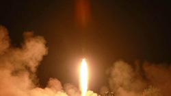 """""""Triều Tiên phóng 4 quả rocket từ bệ phóng rocket đa nòng"""""""