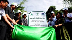 Trồng cây xanh tại đồi Độc Lập nhân kỷ niệm 60 năm Chiến thắng Điện Biên Phủ