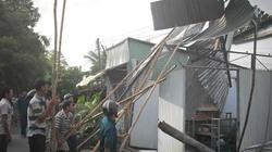 Sau Cần Thơ, lốc xoáy tàn phá hàng chục căn nhà ở Hậu Giang