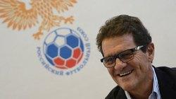 HLV Fabio Capello tiếp tục dẫn dắt tuyển Nga đến năm 2018
