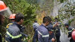 Biểu dương hơn 1.000 chiến sĩ dập lửa cứu rừng