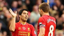 """Gerrard bất ngờ """"dìm hàng"""" Suarez"""