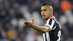 """Juventus """"bật đèn xanh"""" cho Arturo Vidal gia nhập M.U"""