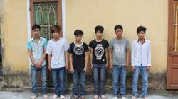 Huế: Bắt 6 trai làng chém người tới tấp tại quán nhậu