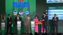 """Bốc thăm chia bảng AFF Cup: Việt Nam """"né"""" được bảng tử thần"""