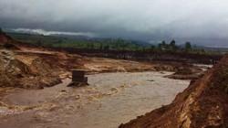 Vụ vỡ đê quai thủy điện Ia Krel 2: Chủ đầu tư thiệt hại hơn 10 tỷ đồng