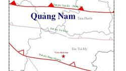 Động đất 2,6 độ richter tại Bắc Trà My