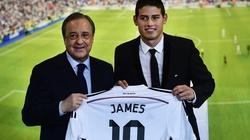 "James Rodriguez ""lại quả"" cho Perez bằng... 1,5 tỷ euro"