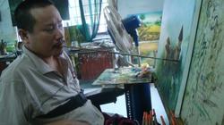 Những bức tranh giá ngàn đô của hoạ sĩ vẽ bằng... miệng
