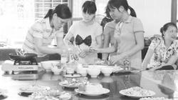 Nông dân đi học  làm... đầu bếp