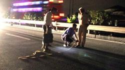 Hà Nội: Đã xác định được danh tính phụ nữ bị nhiều ôtô cán trên cao tốc