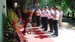 Tặng 10 tấn sản phẩm NPK-S Lâm Thao cho Khu di tích lịch sử K9