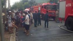 Bình Dương: Cty giày cháy lớn, hàng trăm công nhân hoảng loạn