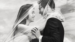 Người đẹp Hoa ngữ làm dâu xứ Hàn, khoe ảnh cưới tuyệt đẹp