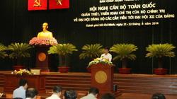 Bế mạc Hội nghị toàn quốc quán triệt Chỉ thị của Bộ Chính trị