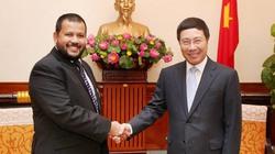 Phó Thủ tướng Phạm Bình Minh tiếp Bộ trưởng Công Thương Sri Lanka