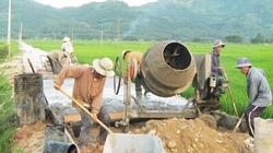 Quảng Ngãi: Nông dân đóng góp hơn 1 triệu ngày công