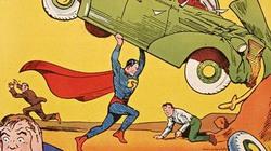 Cuốn truyện tranh đầu tiên về siêu nhân lập kỷ lục đấu giá