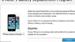 Apple thu hồi pin lỗi của dòng iPhone 5