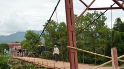 Điện Biên: Xây cầu bê tông thay cầu treo
