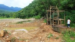 Thanh Hóa: Vàng tặc phá nát suối Pưng