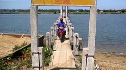 """Quảng Nam: Cấm xe máy qua cầu """"vĩnh biệt"""""""