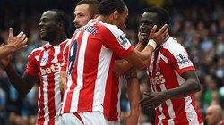 Man City 0-1 Stoke:Cựu cầu thủ M.U khiến The Citizens ôm hận