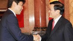 Chủ tịch nước tiếp Đoàn nghị sỹ trẻ Đảng Dân chủ tự do Nhật Bản