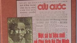 Thêm tư liệu quý về Chủ tịch Hồ Chí Minh trên báo Cứu quốc