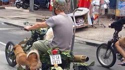 Độc đáo xế độ 9 bánh dạo phố Sài Gòn