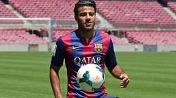 """Chi 23 triệu bảng, M.U và Man City vẫn """"vồ hụt"""" sao trẻ Barca"""