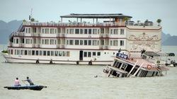 3 tàu du lịch chìm trên vịnh Hạ Long được bồi thường khoảng 5 tỷ đồng