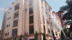 Hải Phòng: Cháy phòng làm việc giám đốc sở Tài nguyên Môi trường