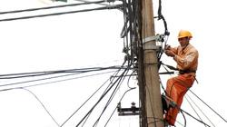 EVN HANOI:  Chỉnh trang, hạ ngầm hệ thống dây điện