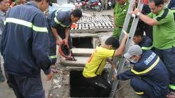 Bình Dương: Hơn 18 giờ cứu hộ chưa tìm thấy bé trai bị cuốn xuống cống