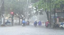 Áp thấp nhiệt đới gây mưa to khu vực đông bắc Bắc Bộ