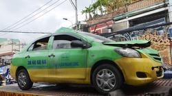 Taxi cháy rực giữa quận Phú Nhuận, khách đạp tung cửa thoát thân