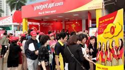 Hàng ngàn vé máy bay Vietjet giá từ 0 đồng tại Hội chợ Du lịch Quốc tế TP.HCM 2014