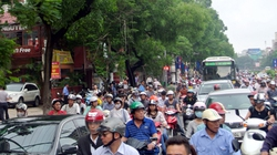 Chính thức bỏ lệnh cấm ô tô tuyến đường Xuân Thủy - Cầu Giấy