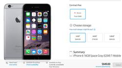 Hé lộ giá bán iPhone 6 bản quốc tế