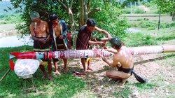 Cột đâm trâu, cây nêu và bộ gu - Di sản của người Cor