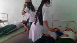 9 sinh viên ĐH Quảng Nam ngất xỉu, co giật giữa giờ học thể dục