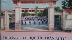 """""""Bi hài"""" ở Quảng Trị: In hình trường lên vở rồi... bán cho học sinh"""